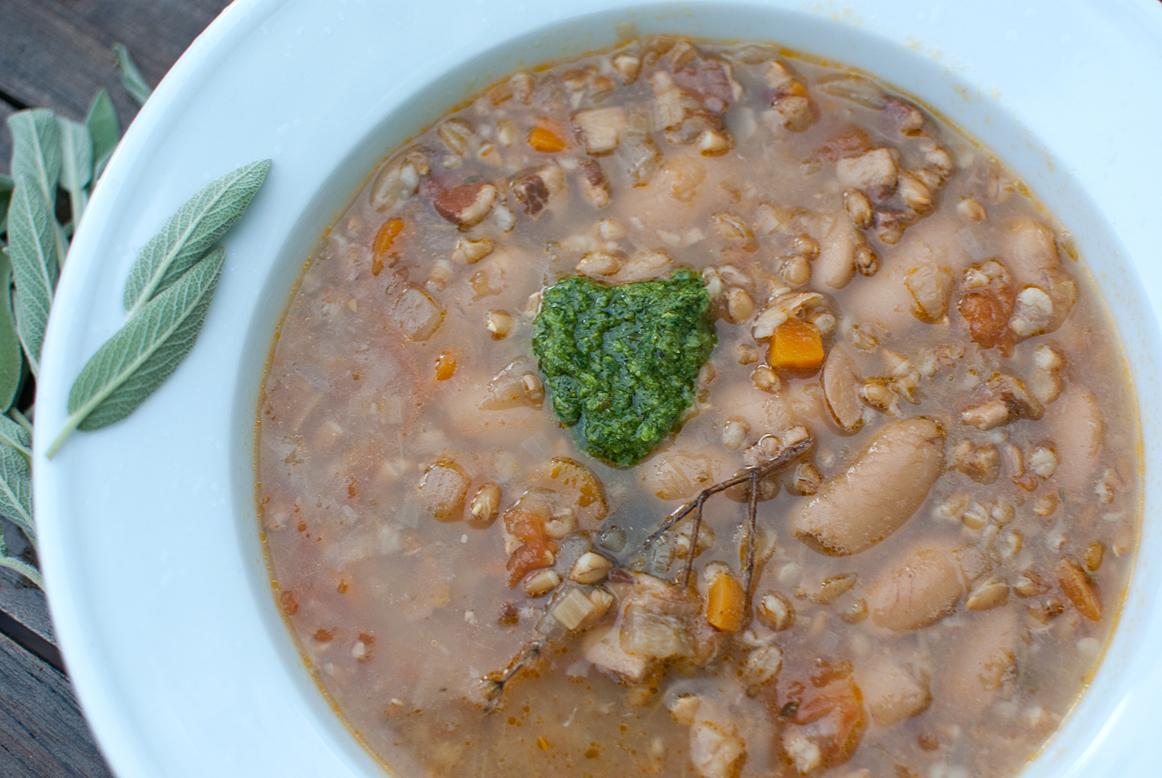 Tuscan Bean Soup |